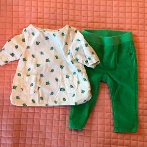GAP Matching Sets - Baby gap 6-12 months girl set